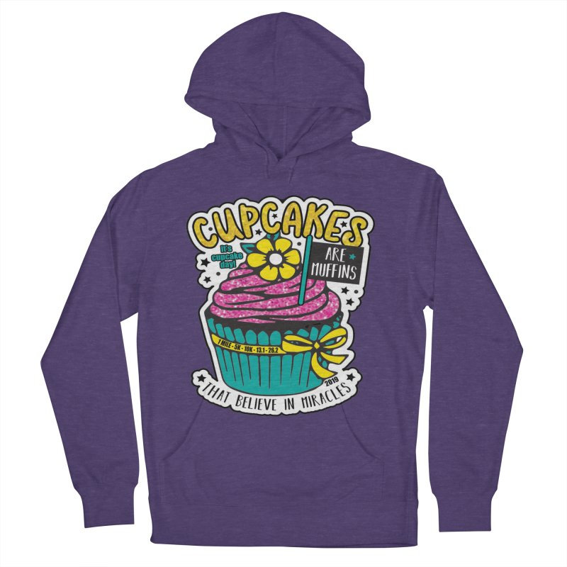 Cupcake Day Women's French Terry Pullover Hoody by moonjoggers's Artist Shop