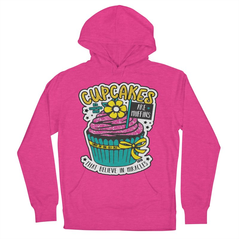 Cupcake Day Men's French Terry Pullover Hoody by moonjoggers's Artist Shop