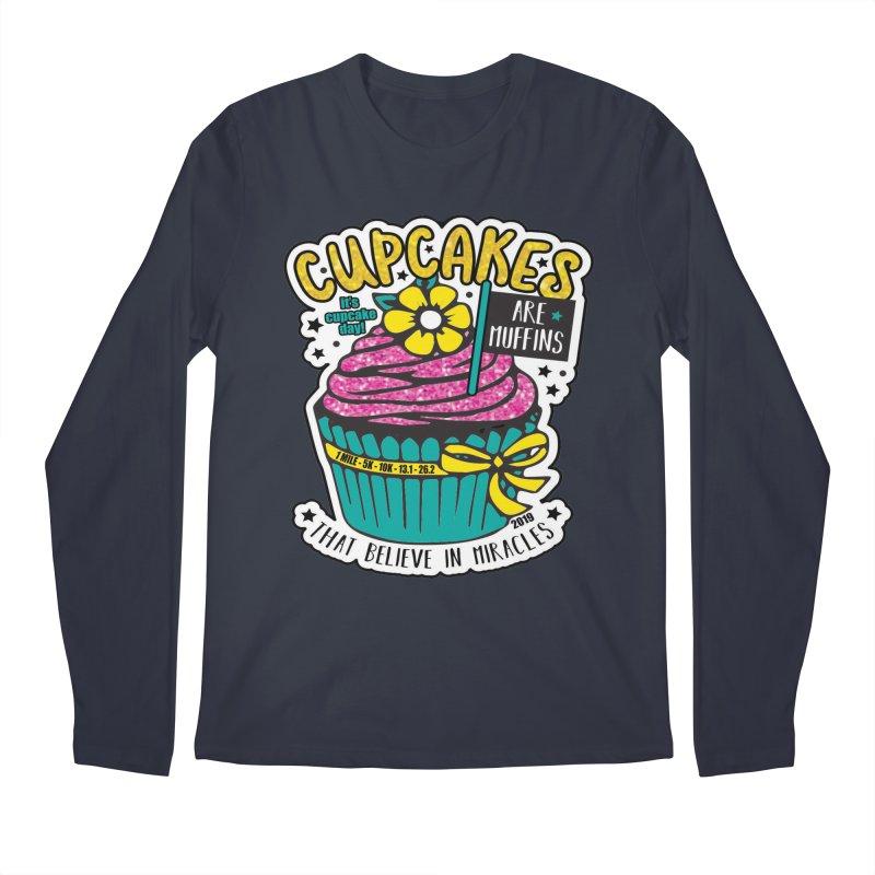 Cupcake Day Men's Regular Longsleeve T-Shirt by moonjoggers's Artist Shop