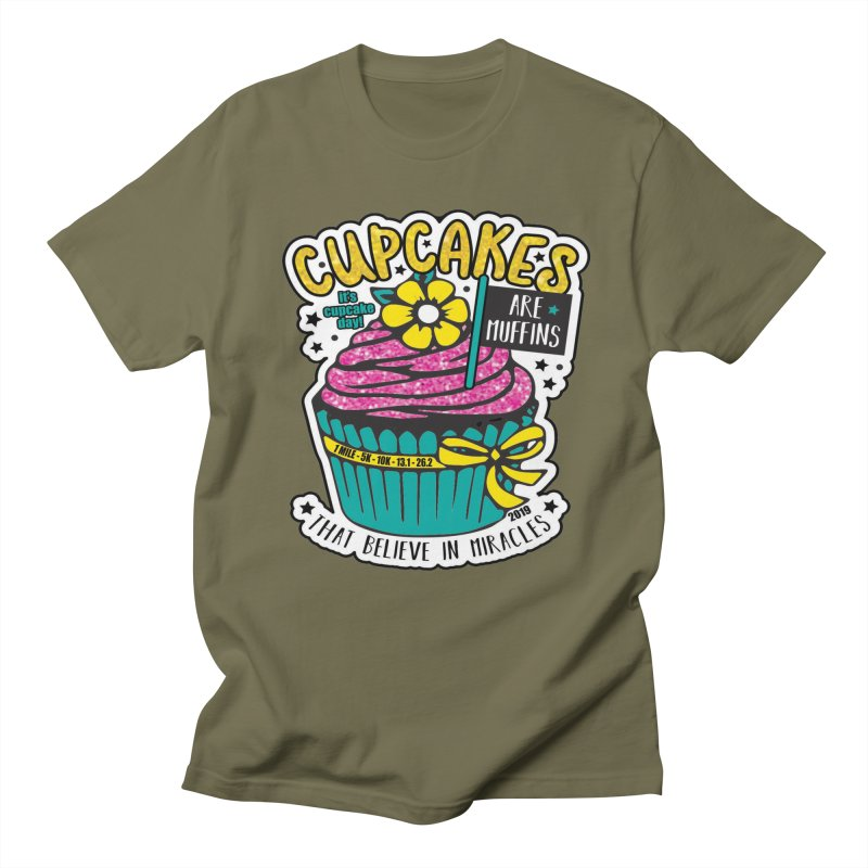 Cupcake Day Women's Regular Unisex T-Shirt by moonjoggers's Artist Shop