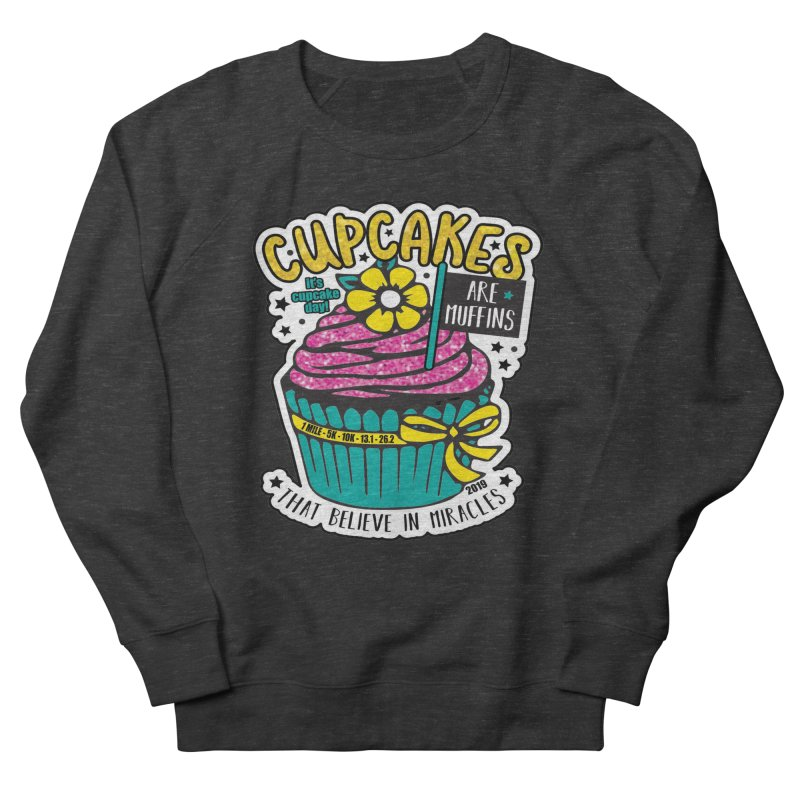 Cupcake Day Men's French Terry Sweatshirt by Moon Joggers's Artist Shop