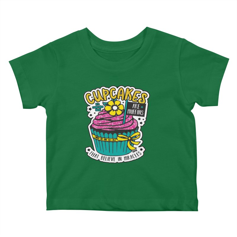 Cupcake Day Kids Baby T-Shirt by moonjoggers's Artist Shop