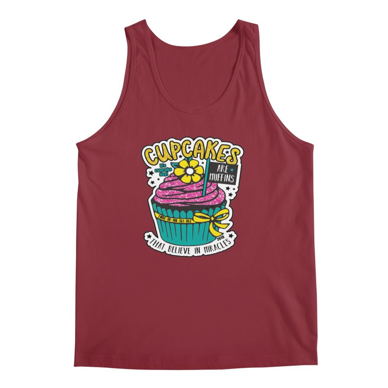 Cupcake Day Men's Regular Tank by moonjoggers's Artist Shop