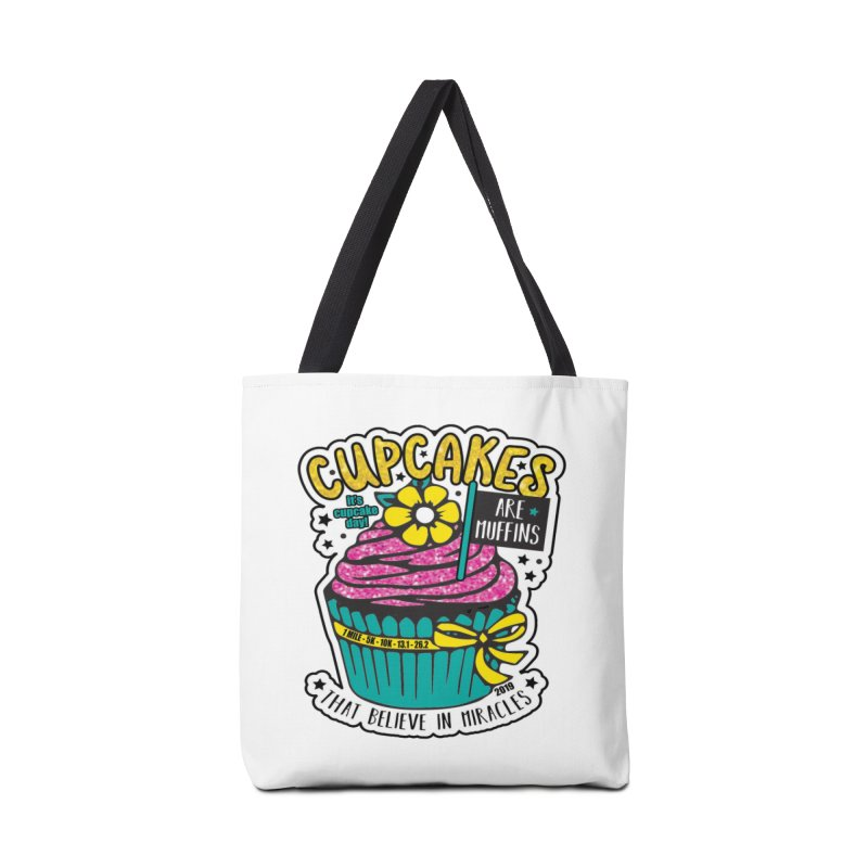 Cupcake Day Accessories Bag by moonjoggers's Artist Shop