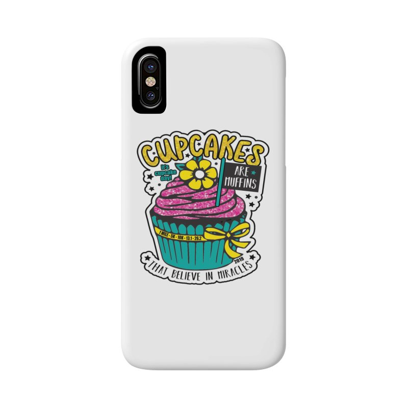 Cupcake Day Accessories Phone Case by moonjoggers's Artist Shop