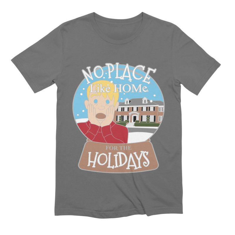 No Place Like Home For The Holidays Men's Extra Soft T-Shirt by Moon Joggers's Artist Shop