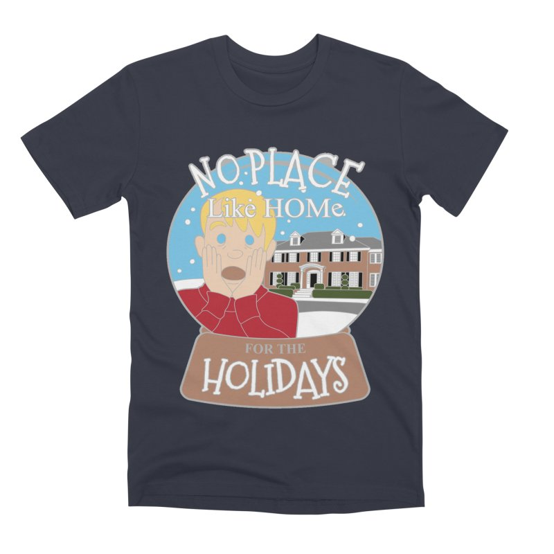 No Place Like Home For The Holidays Men's Premium T-Shirt by Moon Joggers's Artist Shop