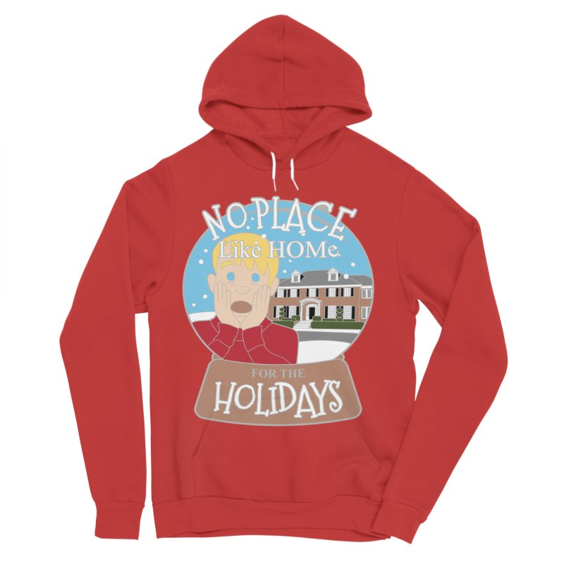 No Place Like Home For The Holidays Women's Sponge Fleece Pullover Hoody by moonjoggers's Artist Shop