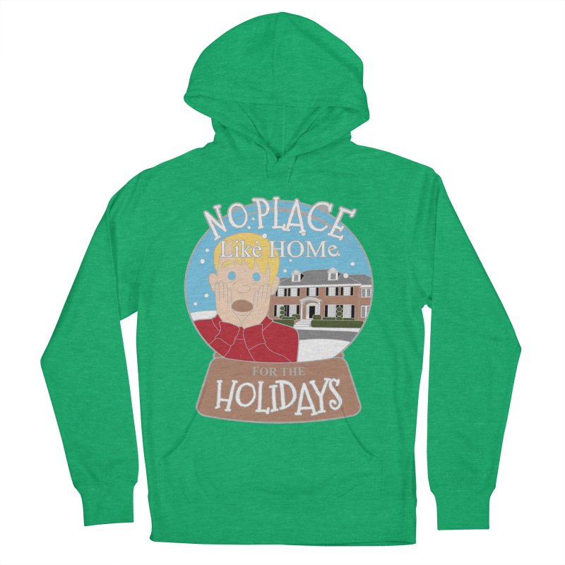 No Place Like Home For The Holidays Women's French Terry Pullover Hoody by Moon Joggers's Artist Shop