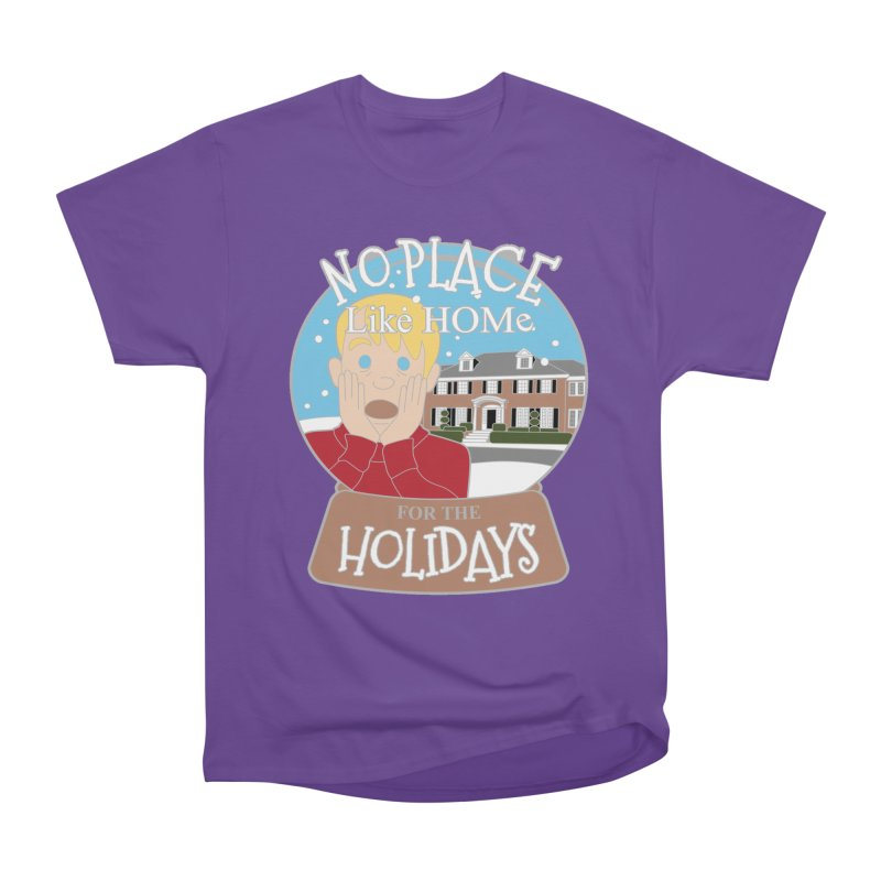 No Place Like Home For The Holidays Women's Heavyweight Unisex T-Shirt by Moon Joggers's Artist Shop
