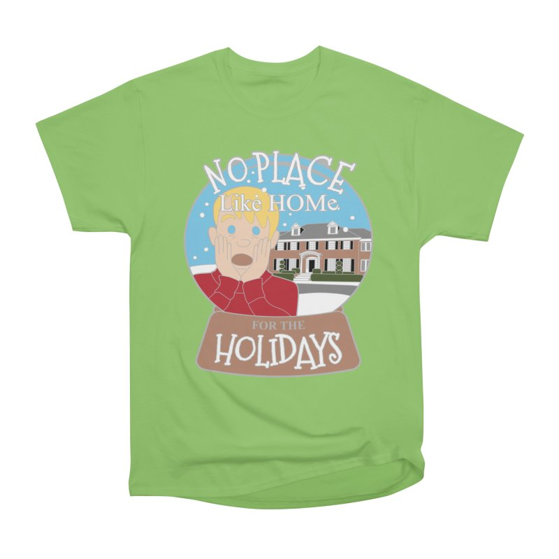 No Place Like Home For The Holidays Men's Heavyweight T-Shirt by moonjoggers's Artist Shop