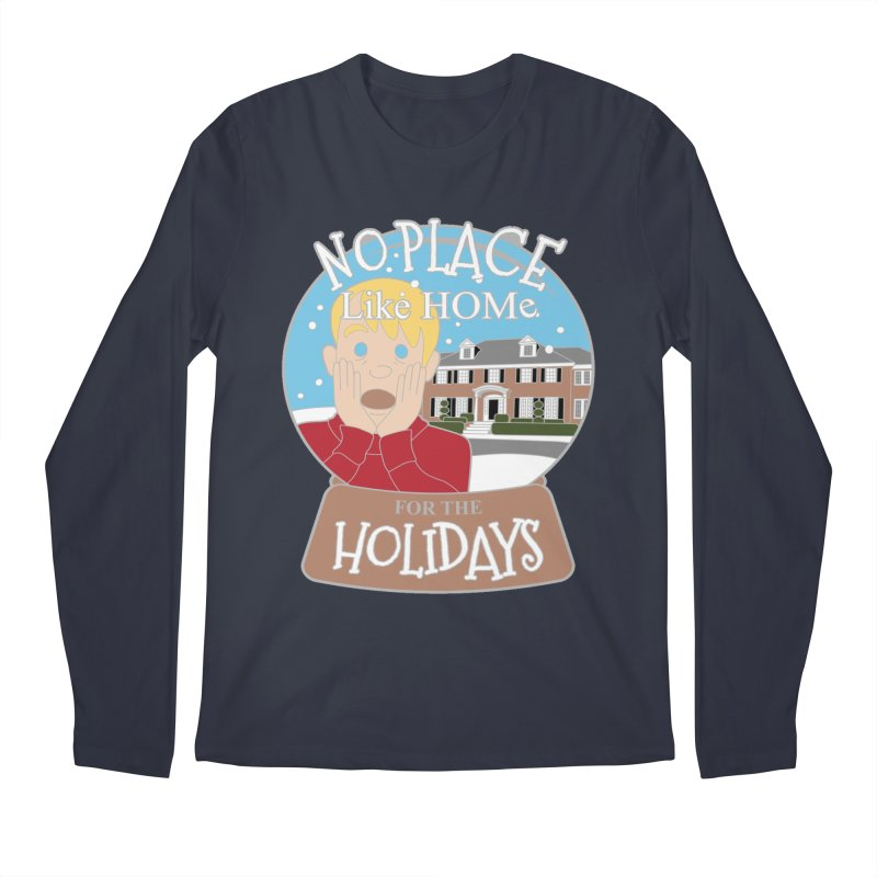 No Place Like Home For The Holidays Men's Regular Longsleeve T-Shirt by Moon Joggers's Artist Shop