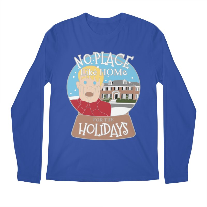 No Place Like Home For The Holidays Men's Regular Longsleeve T-Shirt by moonjoggers's Artist Shop