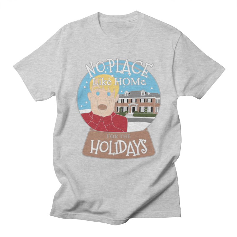 No Place Like Home For The Holidays Women's Regular Unisex T-Shirt by Moon Joggers's Artist Shop