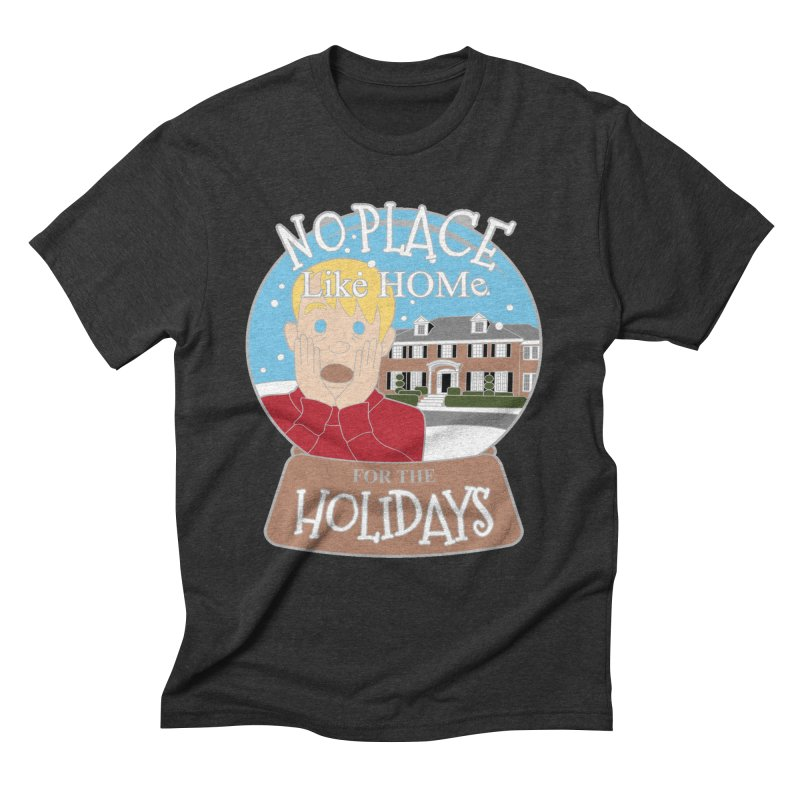 No Place Like Home For The Holidays Men's Triblend T-Shirt by Moon Joggers's Artist Shop