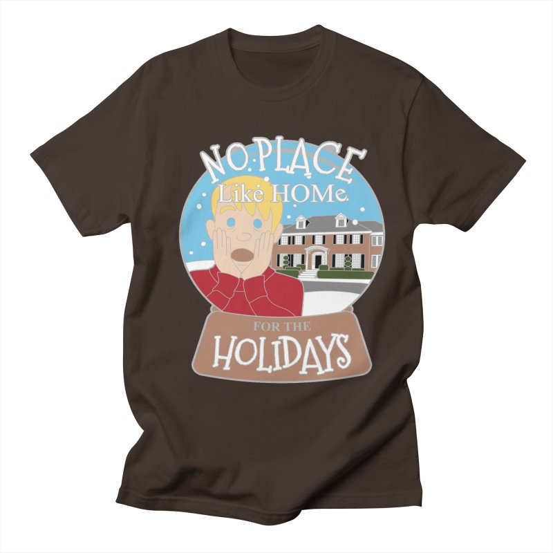 No Place Like Home For The Holidays Men's Regular T-Shirt by Moon Joggers's Artist Shop