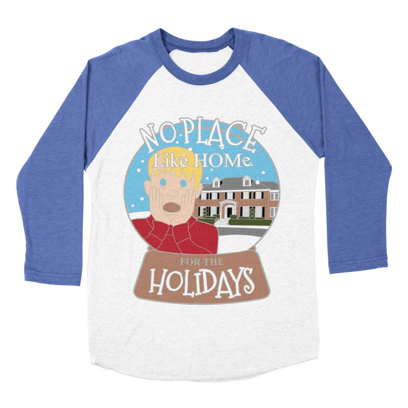 No Place Like Home For The Holidays Women's Baseball Triblend Longsleeve T-Shirt by Moon Joggers's Artist Shop