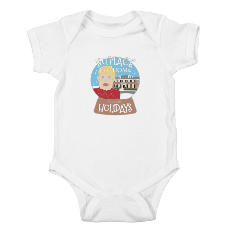 No Place Like Home For The Holidays Kids Baby Bodysuit by Moon Joggers's Artist Shop