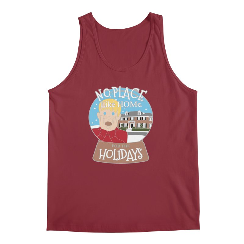 No Place Like Home For The Holidays Men's Regular Tank by moonjoggers's Artist Shop