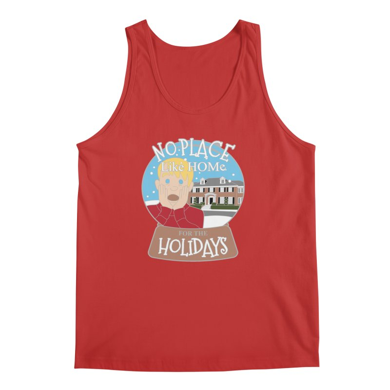 No Place Like Home For The Holidays Men's Regular Tank by Moon Joggers's Artist Shop