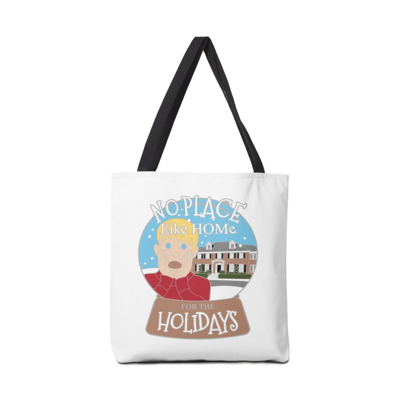 No Place Like Home For The Holidays Accessories Bag by moonjoggers's Artist Shop