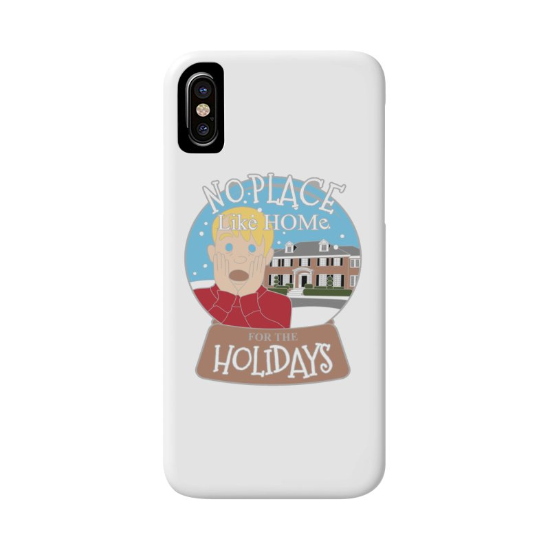 No Place Like Home For The Holidays Accessories Phone Case by Moon Joggers's Artist Shop