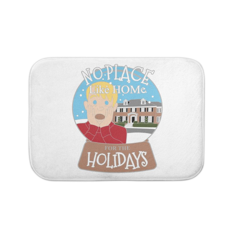 No Place Like Home For The Holidays Home Bath Mat by Moon Joggers's Artist Shop
