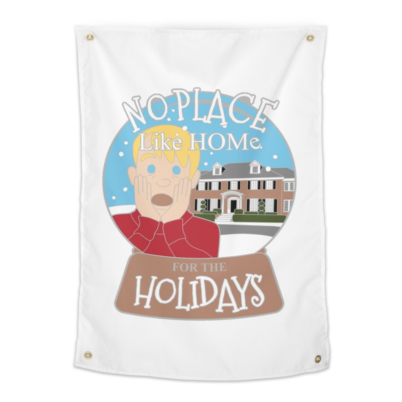 No Place Like Home For The Holidays Home Tapestry by Moon Joggers's Artist Shop