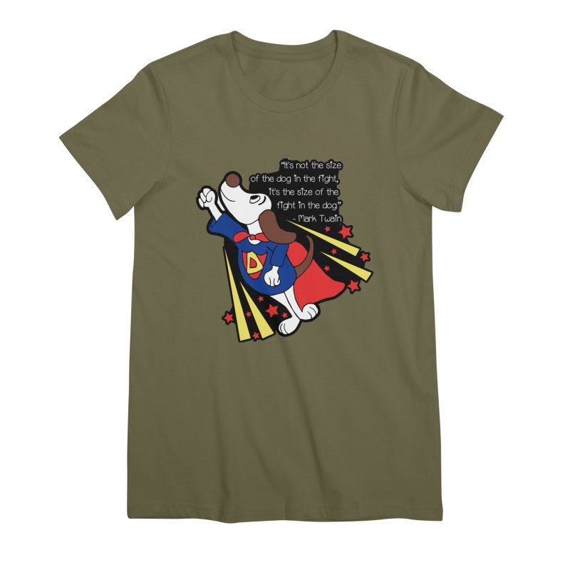 Underdog Day Women's Premium T-Shirt by Moon Joggers's Artist Shop