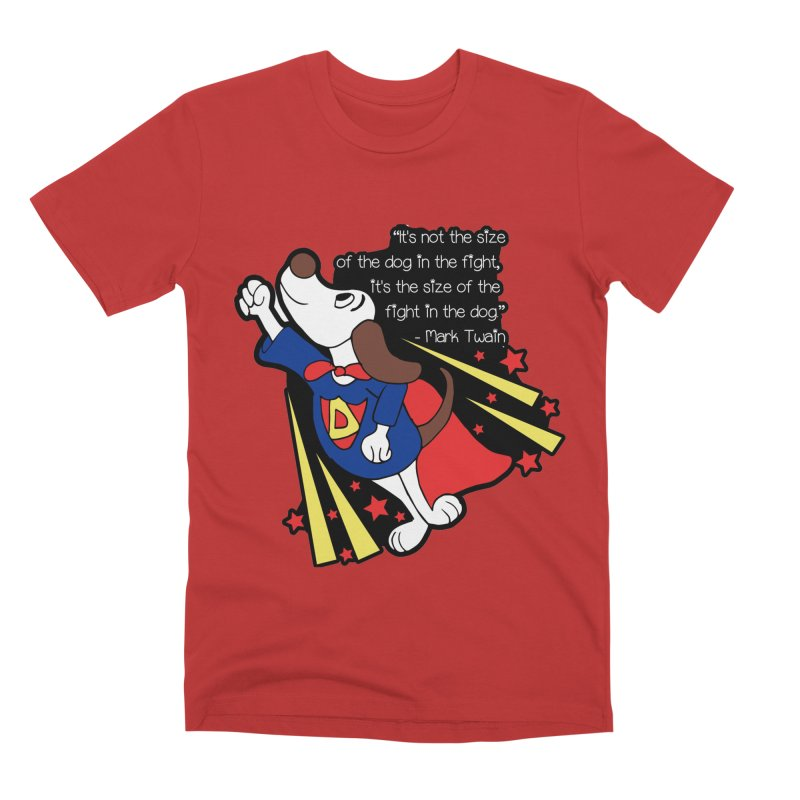 Underdog Day Men's Premium T-Shirt by Moon Joggers's Artist Shop