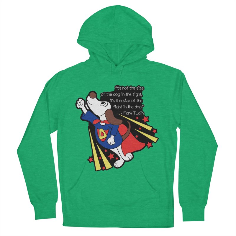 Underdog Day Men's French Terry Pullover Hoody by moonjoggers's Artist Shop