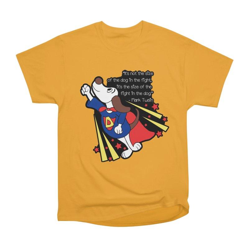 Underdog Day Men's Heavyweight T-Shirt by moonjoggers's Artist Shop