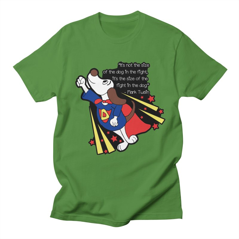 Underdog Day Women's Regular Unisex T-Shirt by moonjoggers's Artist Shop