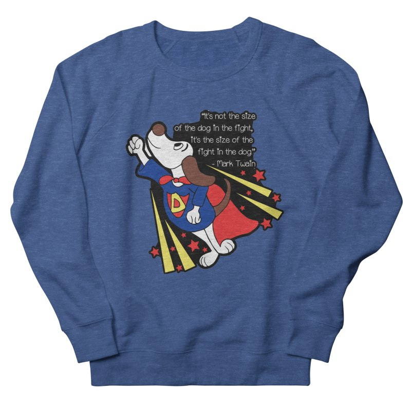 Underdog Day Women's French Terry Sweatshirt by Moon Joggers's Artist Shop