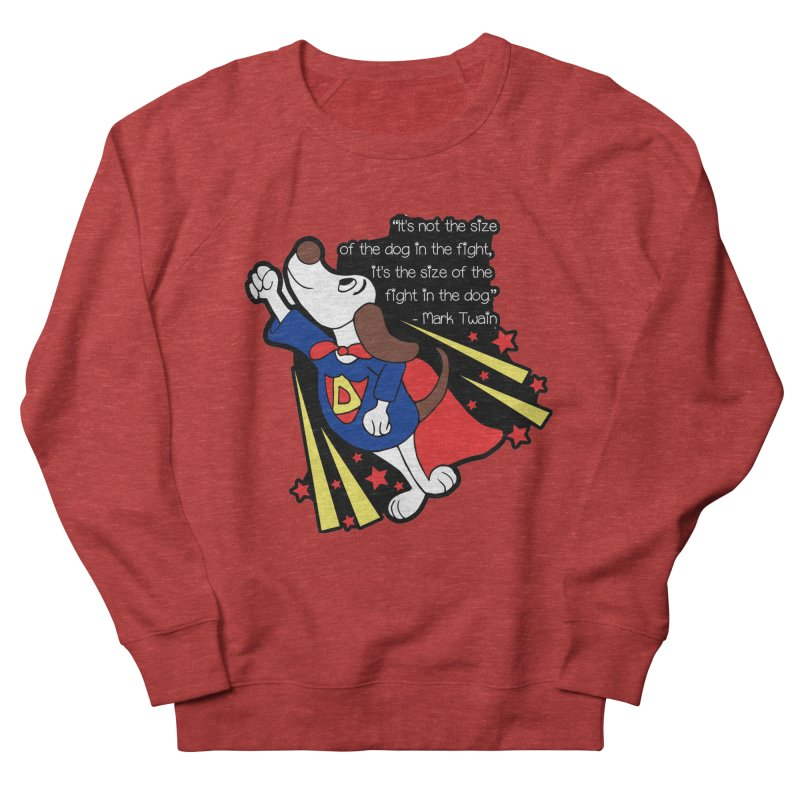 Underdog Day Men's French Terry Sweatshirt by moonjoggers's Artist Shop
