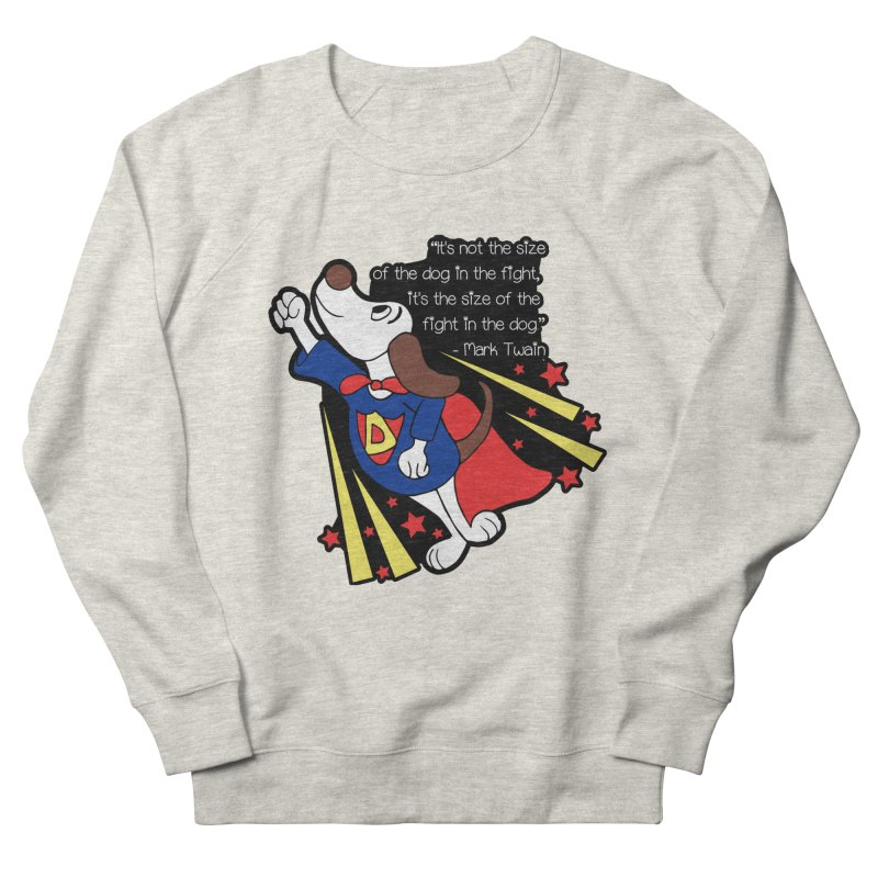 Underdog Day Men's French Terry Sweatshirt by Moon Joggers's Artist Shop