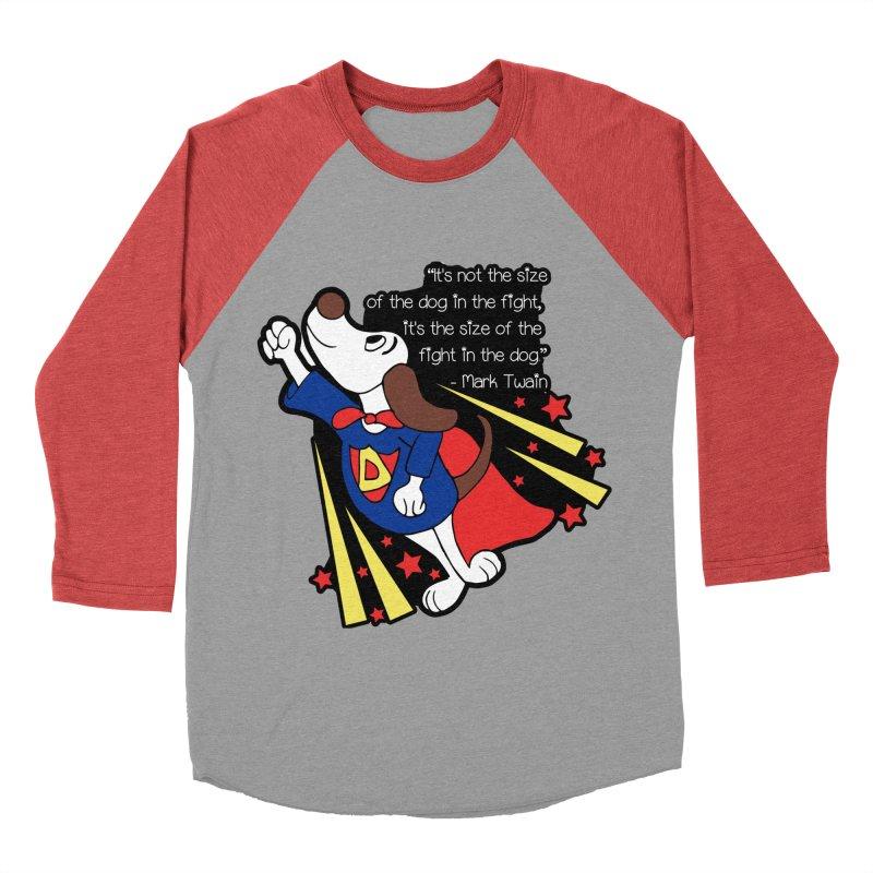 Underdog Day Women's Baseball Triblend Longsleeve T-Shirt by Moon Joggers's Artist Shop