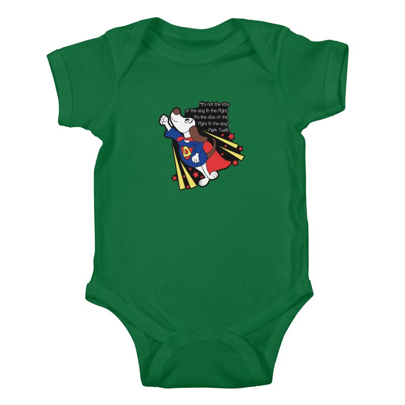 Underdog Day Kids Baby Bodysuit by moonjoggers's Artist Shop