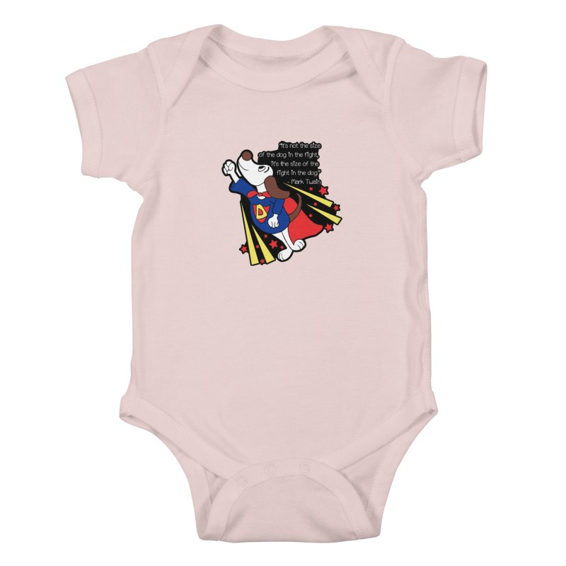 Underdog Day Kids Baby Bodysuit by Moon Joggers's Artist Shop