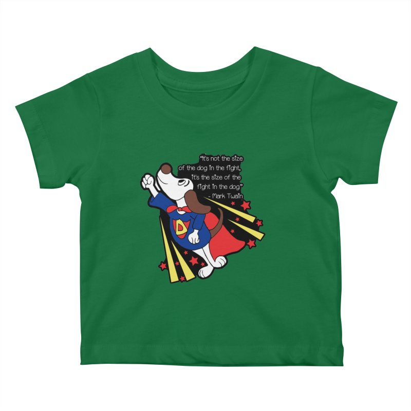 Underdog Day Kids Baby T-Shirt by Moon Joggers's Artist Shop