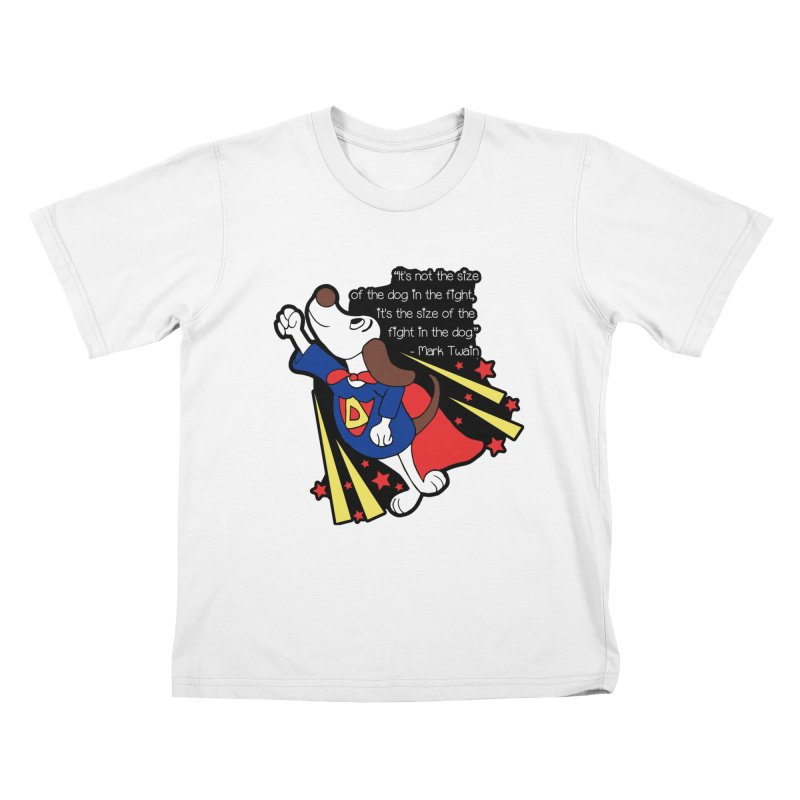 Underdog Day Kids T-Shirt by Moon Joggers's Artist Shop