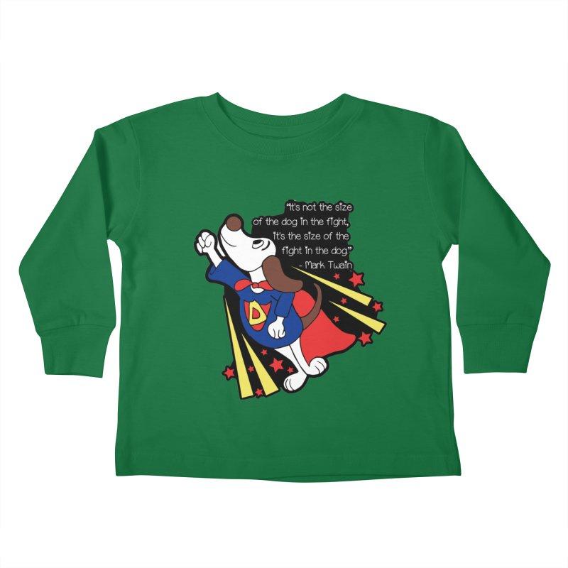 Underdog Day Kids Toddler Longsleeve T-Shirt by Moon Joggers's Artist Shop