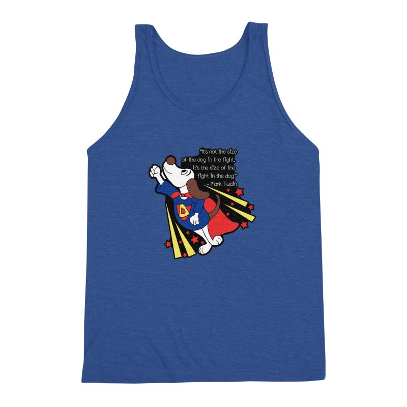 Underdog Day Men's Triblend Tank by Moon Joggers's Artist Shop