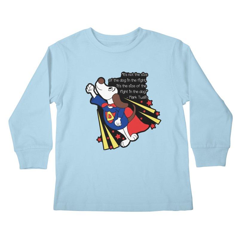 Underdog Day Kids Longsleeve T-Shirt by Moon Joggers's Artist Shop