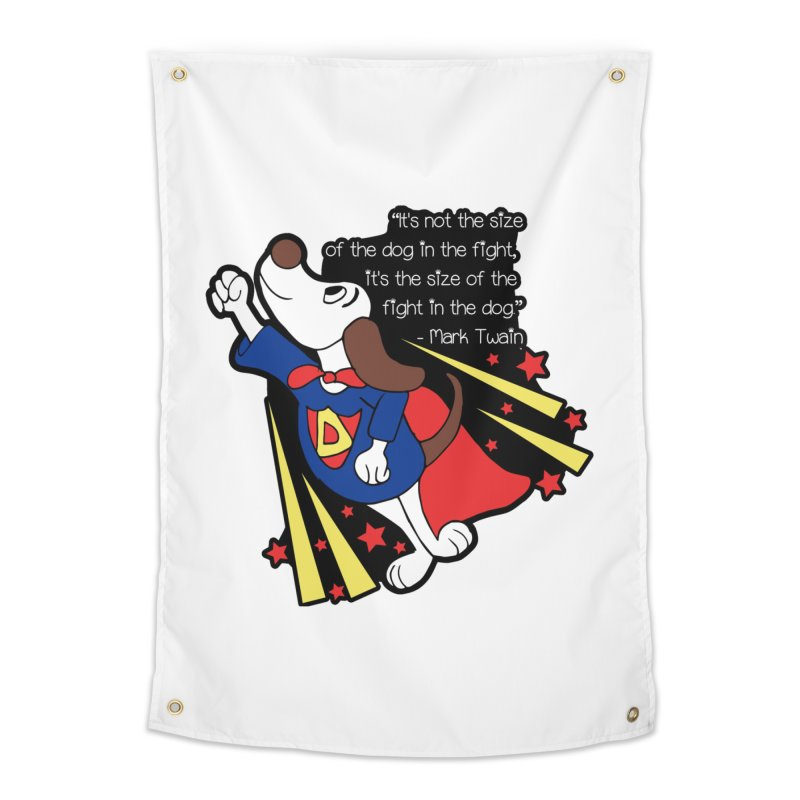 Underdog Day Home Tapestry by Moon Joggers's Artist Shop