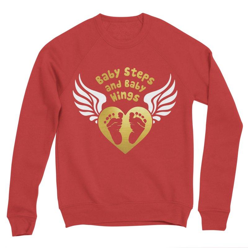 Baby Steps and Baby Wings Women's Sponge Fleece Sweatshirt by Moon Joggers's Artist Shop