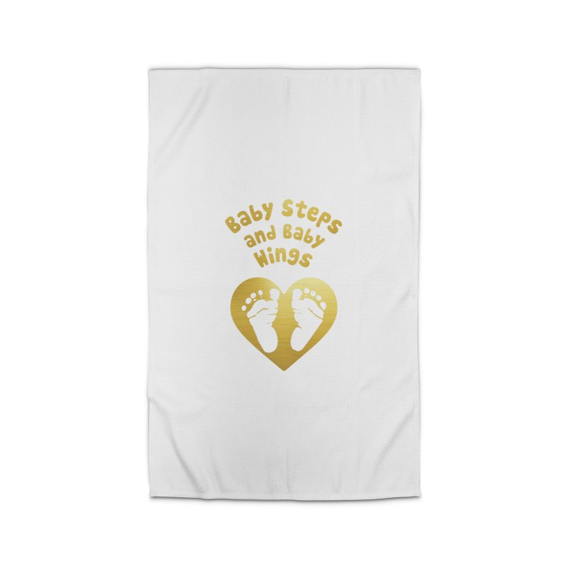 Baby Steps and Baby Wings Home Rug by Moon Joggers's Artist Shop
