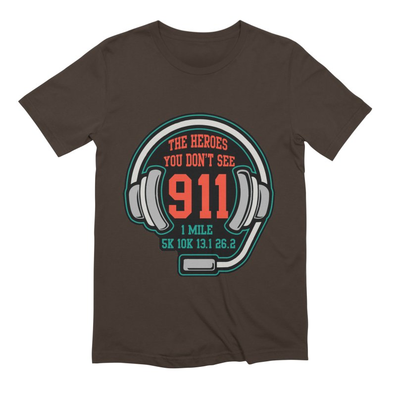 The Heroes You Don't See Men's Extra Soft T-Shirt by Moon Joggers's Artist Shop