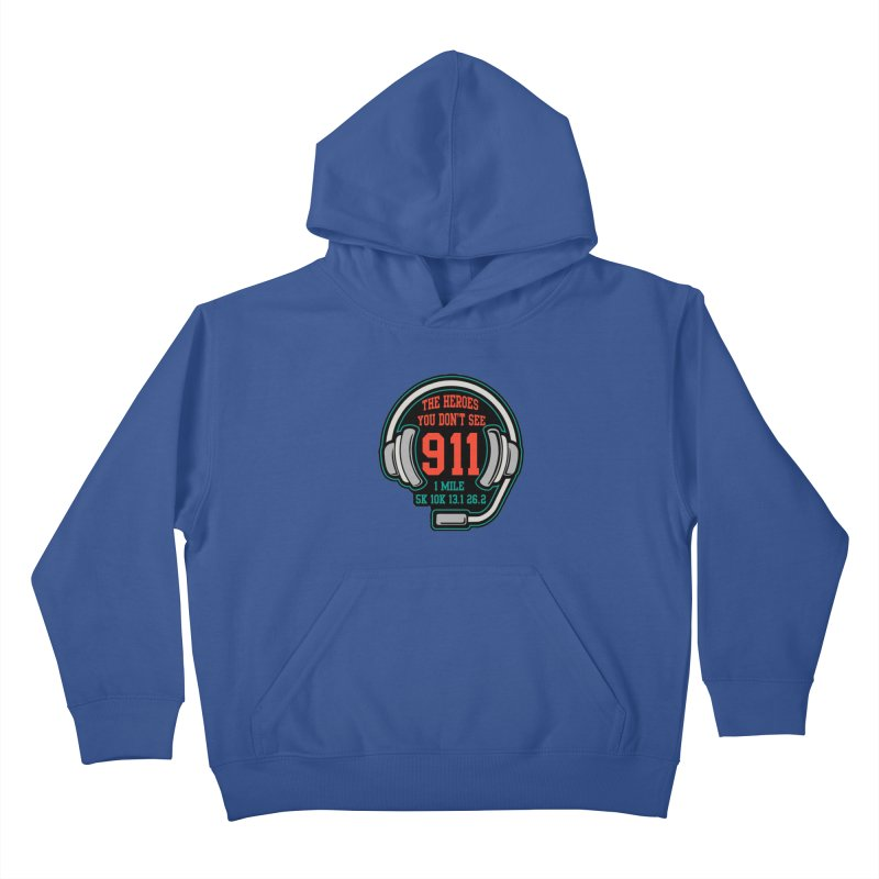 The Heroes You Don't See Kids Pullover Hoody by Moon Joggers's Artist Shop