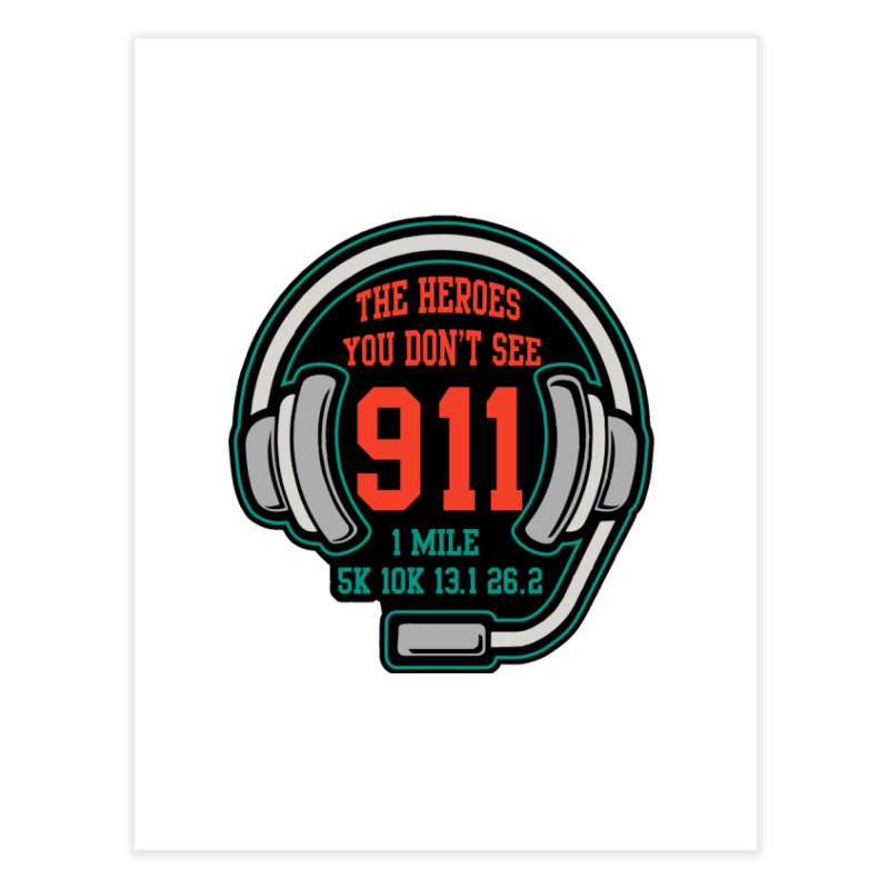 The Heroes You Don't See Home Fine Art Print by moonjoggers's Artist Shop